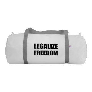 Legalize Freedom Gym Bag