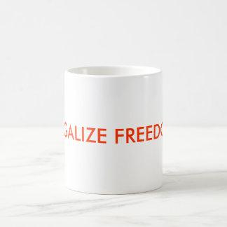 LEGALIZE FREEDOM COFFEE MUGS