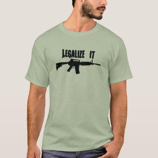 Legalize It AR15 T-Shirt