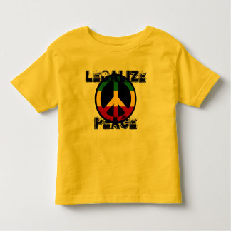 Legalize Peace Toddler T-Shirt