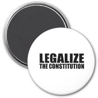 Legalize the constitution fridge magnets