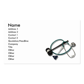 LegalMedicalSupport073110, Name, Address 1, Add... Double-Sided Standard Business Cards (Pack Of 100)