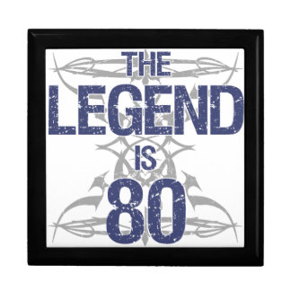 Legend 80th Birthday Gift Box