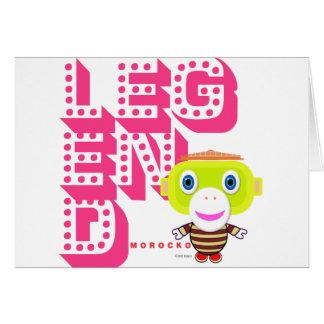 Legend-Cute Monkey-Morocko Card