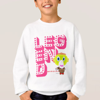 Legend-Cute Monkey-Morocko Sweatshirt