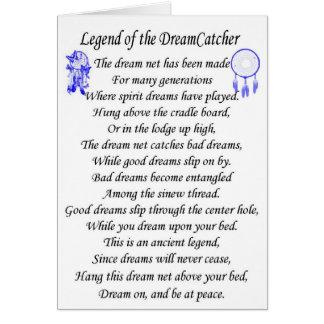Legend dreamcatcher card