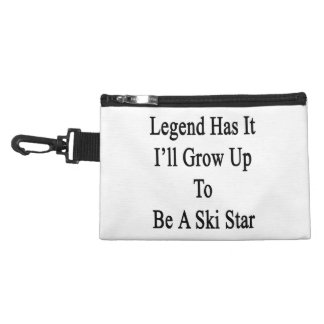 Legend Has It I'll Grow Up To Be A Ski Star Accessories Bags