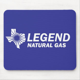 Legend Natural Gas 4 Mouse Pad