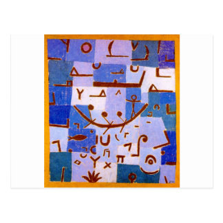 Legend of the Nile by Paul Klee Postcard