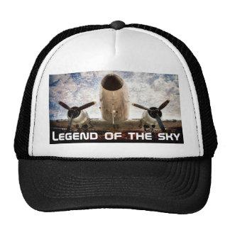 Legend of the sky customizable cap