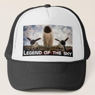 Legend of the sky customizable trucker hat