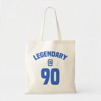 Legendary 90th Birthday Tote Bag