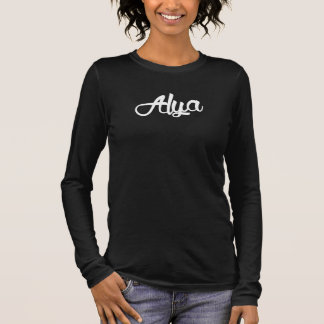 Legendary Alya Females Black Long Sleeve T-Shirt