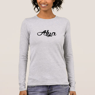 Legendary Alya Females Grey Long Sleeve T-Shirt