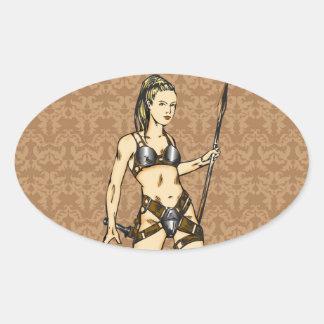 Legendary Amazon Women Sticker