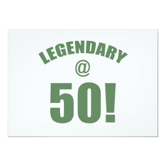 Legendary At 50 Card