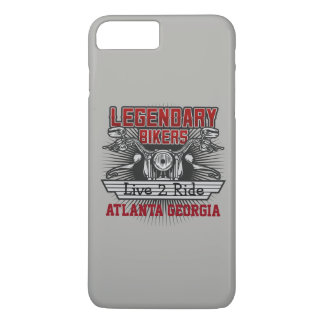 Legendary Bikers Live 2 Ride (Any City or Name) iPhone 8 Plus/7 Plus Case