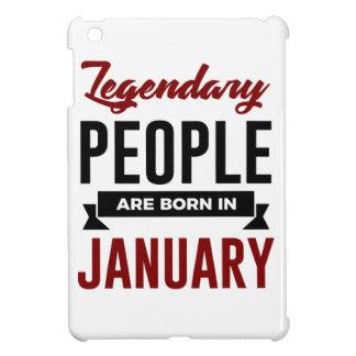 Legendary Born In January Babies Birthday Case For The iPad Mini