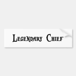 Legendary Chief Sticker