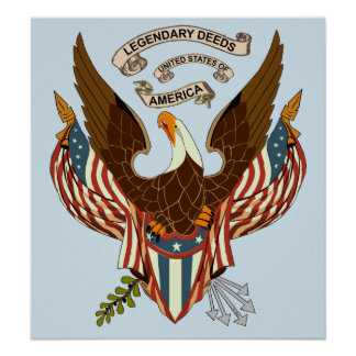 Legendary Deeds United States of America Poster