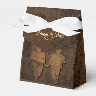 Legendary Love Storybook Gay Wedding Favor Box