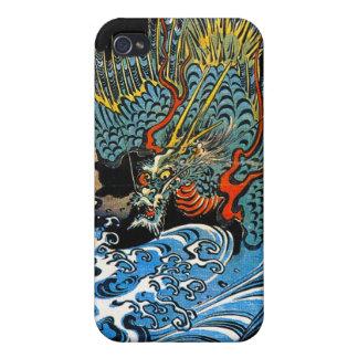 Legendary mythical Dragon Utagawa Kuniyoshi art iPhone 4/4S Cases
