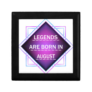 Legends are born in August Gift Box