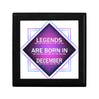 Legends are born in December Gift Box