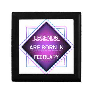 Legends are born in February Gift Box