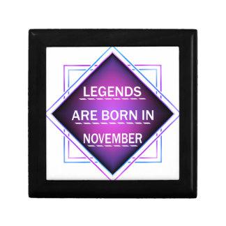 Legends are born in November Gift Box