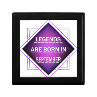 Legends are born in September Gift Box