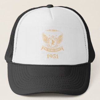 Legends Are Born On February 1952 Trucker Hat