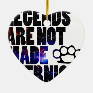 Legends Galaxy Ceramic Heart Decoration