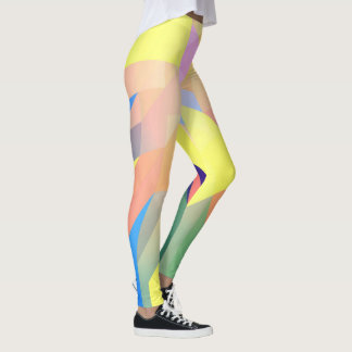 legging abstract colored