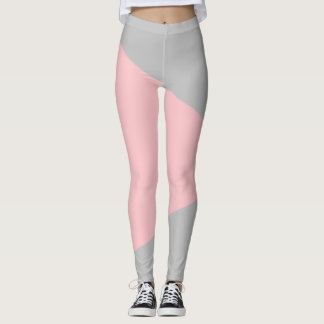 Legging Abstracts Rose/Gris