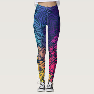 Leggings-abstrac fullcolor leggings