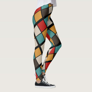 Leggings Abstract Color
