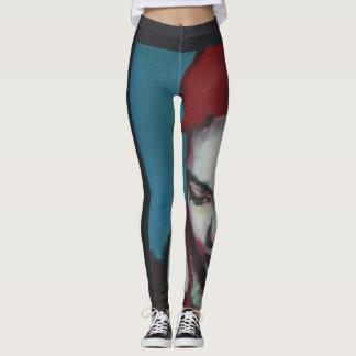 Leggings, 'dark2' by Jennifer Baumeister Leggings