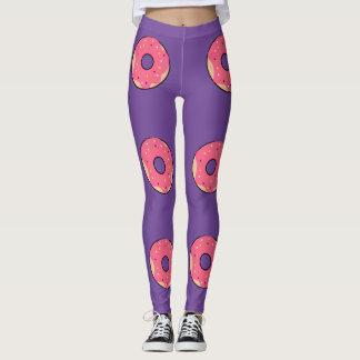 Leggings Donuts Pink