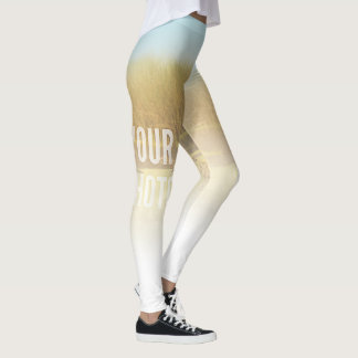 Leggings Fade To White Fill Template