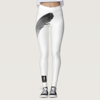 Leggings FEATHER WITH KANJI FOR FEATHER