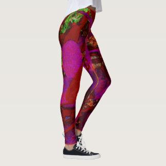 leggings/flowers leggings