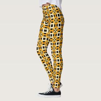 Leggings Geometric #318 Black