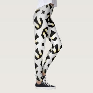 Leggings Jimette black and white Design