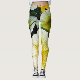 Leggings: Petunias Leggings