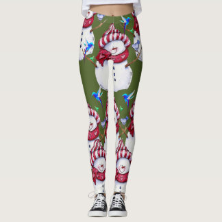 leggings snowman