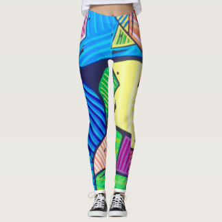 Leggings wearable art by Tquinnartist