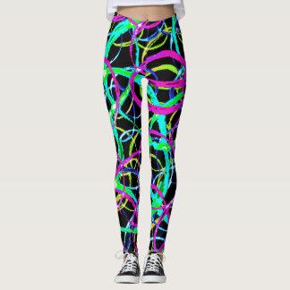 Leggings  with Abstarct Design