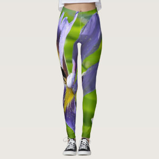 Leggings with Iris