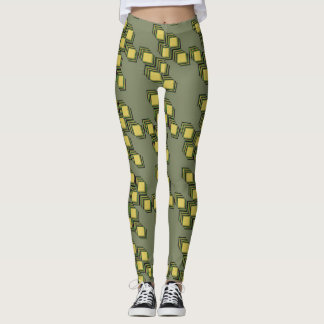 Leggings with Shadow '76 Print